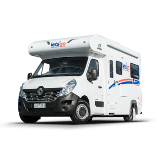 Jayco 3 Berth Cruiser Motorhome - Campervan Hire in Australia