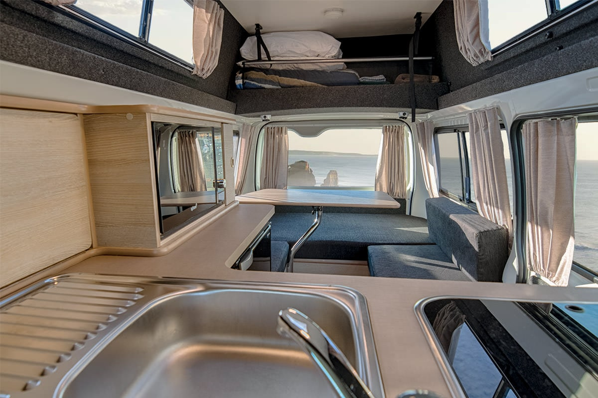Jayco HiTop Campervan For Three - Motorhome Hire in Australia