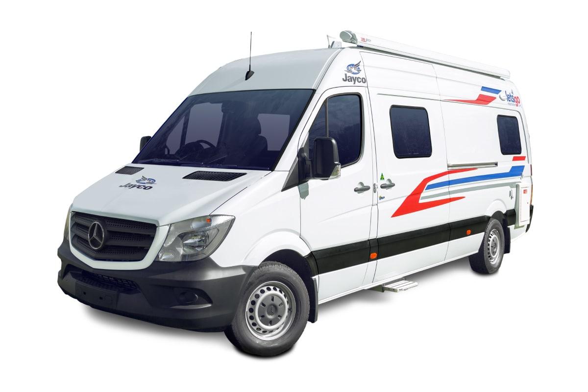 Jayco 3 Berth Wanderer Campervan For Hire | Let's Go Motorhomes
