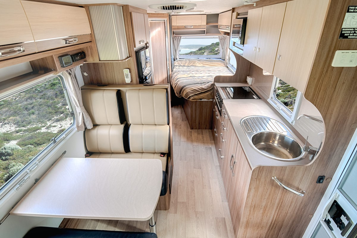 6 Berth Jayco Conquest Motorhome for sale | Let's Go Motorhomes